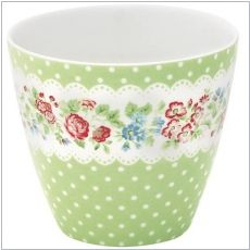 GreenGate Latte Cup Ivy green