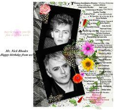 Nick Rhodes Nick Rhodes, Simon Le Bon, Roger Taylor, Cover, Frame, Picture Frame, Frames