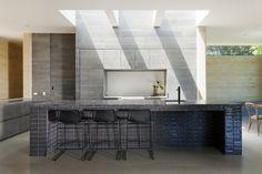 Casa renovada de una planta en Australia con diseños innovadores
