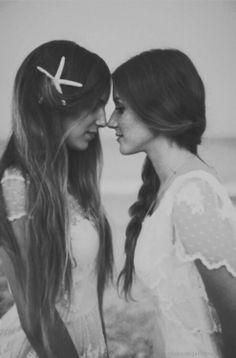 Lesbian love ♡ both gorgeous
