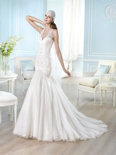 Vestido de novia, modelo Haesel de St. Patrick 2014  www.sanpatrickgranada.es