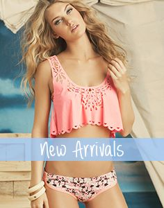 Cute top :) Designer Swimwear 2014: Women's Designer Swimsuits & Designer Bikinis | The Orchid Boutique