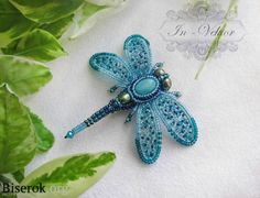 dragonfly - beading DIY