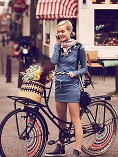 街で見かける自転車に乗った健康的で美しいお姉さんたち|MERY [メリー]