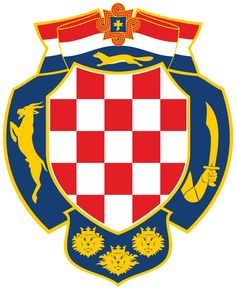 Nice Croatian Coat of Arms