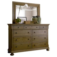 Have to have it. Paula Deen Down Home Aunt Peggys 9 Drawer Dresser - Oatmeal - $1710 @hayneedle
