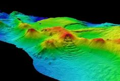 A string of a dozen volcanoes, at least several of them active, has been found beneath the frigid seas near Antarctica, the first such discovery in that region. -- Celia Foster
