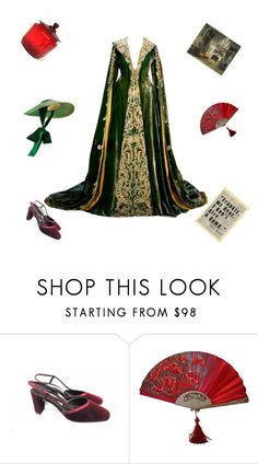 """""""Gone with the wind"""" by violavelvet ❤ liked on Polyvore featuring Harlot and velvetamulet"""