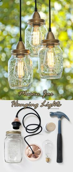 DIY � 30 Awesome Mason JARS Projects You Will Fall in Love of