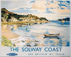 The Solway Coast, Scotland - British Railways