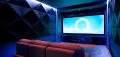 Stylish home theater rooms