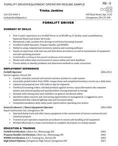 forklift operator resume sample - http://exampleresumecv.org/forklift-operator-resume-sample/