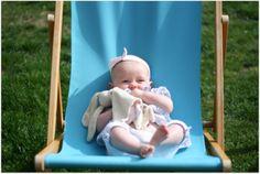 baby + deckchair #baby #photography #summer