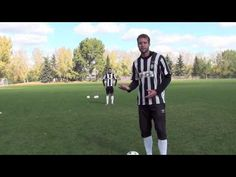 Here we have a video of a kind of soccer training.
