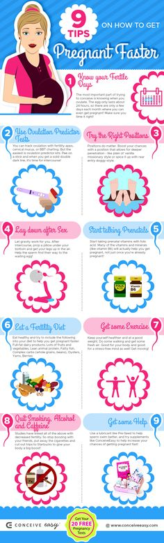How to Get Pregnant Fast: 9 Dos and Don& 9 Tips on How to Get Pregnant Faster Infographic The post How to Get Pregnant Fast: 9 Dos and Don& & ⭕ Baby Getting Pregnant With Twins, Trying To Get Pregnant, How To Pregnant Faster, Pregnant Baby, Pregnant Couple, How To Conceive Twins, Trying To Conceive, Fertility Diet, Fertility Help