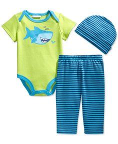 First Impressions Baby Boys  3-Piece Hat fb5c88054