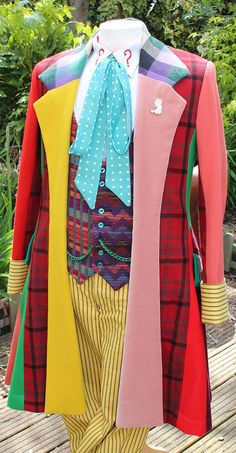 Making My Sixth Doctor Costume