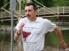 Raymond Jonasson, shown running in Victoria Park, Kitchener has returned to the sport after a liver transplant allowed him to regain his energy.