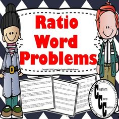 These Common Core word ratio problems will test all levels of students that you may have in your class.These word problems are Scaffolded for student ability. Labeled:Level A- above grade level ability Level B- on grade level abilityLevel C- below grade level abilityIncludes:•They are based on Commo... Math Activities, Teacher Resources, Math Games, Math Math, Math Fractions, Classroom Resources, Math Classroom, Math Words, State School