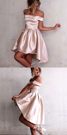 high low homecoming dress,satin cocktail dresses,sexy prom dress,simple prom dress,new fashion homecoming dress for teens