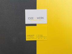Idee & Werk on Behance