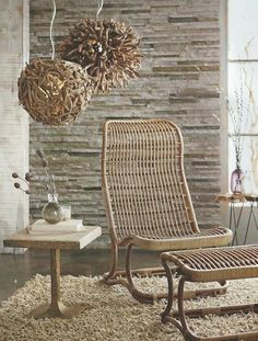 Roost Anders High Back Chair and/or Ottoman