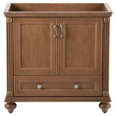 Home Decorators Collection Annakin 36 in. Vanity Cabinet Only in Toffee-CLSD3621-TF at The Home Depot