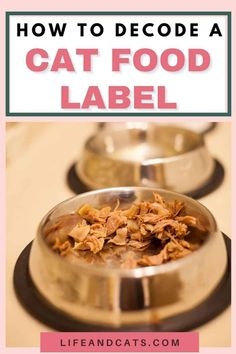Learn to read between the lines of cat food labels to find out what producers are selling to you and your cat. Understand the regulations and definitions. Fish Recipes, Meat Recipes, Information About Cats, Cat Nutrition, Food 101, Kitten Care, Cat Care Tips, Cat Health, Food Labels