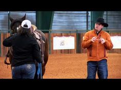 ▶ Clinton Anderson - gaining control of the horse- getting respect -this is the place to start with all horses......