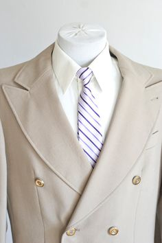Vintage Double-Breasted blazer $58