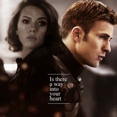 Steve Rogers and Natasha Romanoff (The Spy and The Soldier
