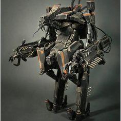 Insane District 9 Exo Suit (Pig Launcher) model created by Robocowboy, bet this one took ALOT of patience to puttogether! --- #district9 #chappie #exosuit #robot #battlesuit #prawn #scifi #neillblomkamp #alien #suits #battle #resinkit #spfx #sculpt #sculpture #sfx #specialFX #weta #mech