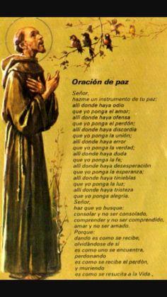 Oración de la paz