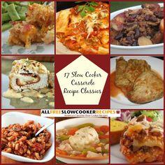 """17 Slow Cooker Casserole Recipe Classics"" Free eCookbook | AllFreeSlowCookerRecipes.com"