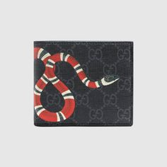 2188e5cc73f1 New Gucci Kingsnake GG Men Wallet Black With BoxGift Free Shipping  fashion   clothing  shoes  accessories  mensaccessories  wallets  ad (ebay link)