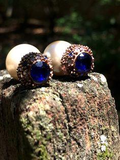 {VENDIDO} Coleção Prata Turca :: Brinco Estilo Dior azul ✨❤️  Para comprar ou receber mais informações, deixe seu e-mail nos comentários ou entre em contato com lojagrassa@gmail.com   #prataturca #prata #semijoia #acessório #anel