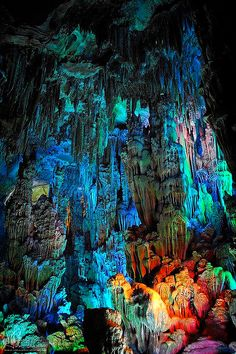 Reed Flute Cave,China.