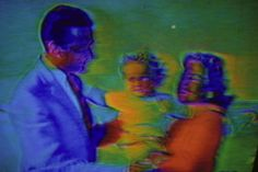 Harry Gruyaert TV Shots, 1972