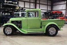 taylormademadman: Kustom Ford Model A Pickup. Abandoned Cars, Hood Ornaments, Classic Trucks, Ford Models, Kustom, Hot Rods, Planes, Trains, Antique Cars