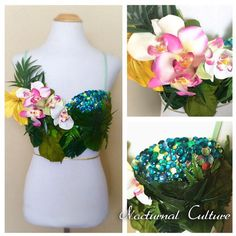 Tropical Rave Bra Premade 34b Rave Bra ($85) ❤ liked on Polyvore featuring intimates, bras, grey, lingerie, women's clothing, lingerie bras, grey bra and sexy lingerie