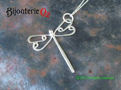 Dragonfly Necklace Dragonfly Pendant Sterling Silver Handmade by BijouterieOz Dragonfly jewelry, Dragonfly Jewellery, Silver Dragonfly This lovely dragonfly is a contemporary mix of stylization and gently flowing lines. Although it appears very delicate it is really quite sturdy. Variations in line thickness create interest and movement. Stamped 925 so you know you are getting the real deal. This sweet pendant is available in 2 sizes. Large is 32mm wide across the wings, with the head and…