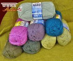 Winter is around the corner with its icy cold fingers. Make yourself or loved one gorgeous jerseys with using our stunning #Nako sport wool! Get yours from #WoolStudio!