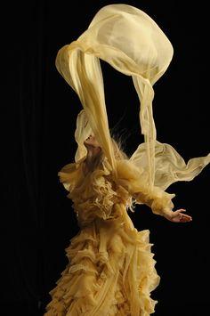 Kate Moss and Alexander McQueen hologram