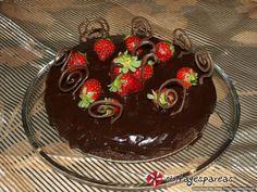 Τούρτα σοκολατίνα νηστίσιμη #sintagespareas #tourtasokolatina #nistisimi