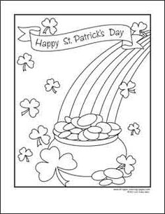 Leprechaun Coloring Page 2 Coloring, 2! and Activities