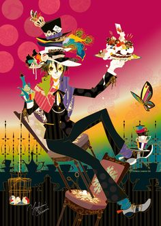 Congratulate you on your easy day crazy Mad Hatter by ~funarium on deviantART
