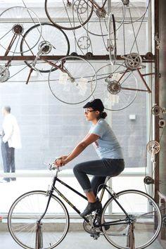 아이스크림이 먹고싶다면 자전거를 타세요! Peddler's Creamery