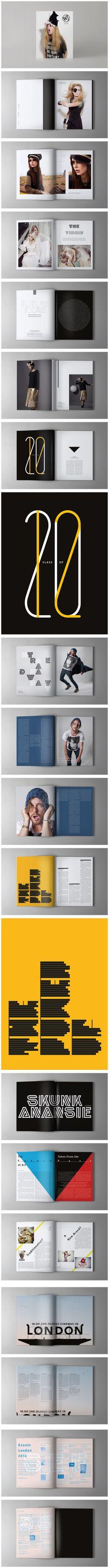 Whos Jack magazine spreads.