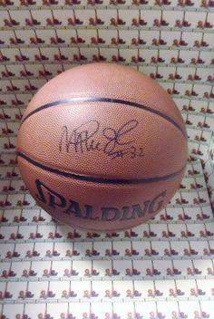 Magic Johnson LAKERS autograph basketball