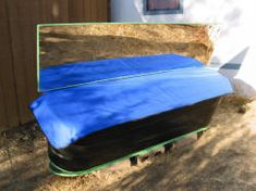 DIY Solar batch water heater made from stock tank